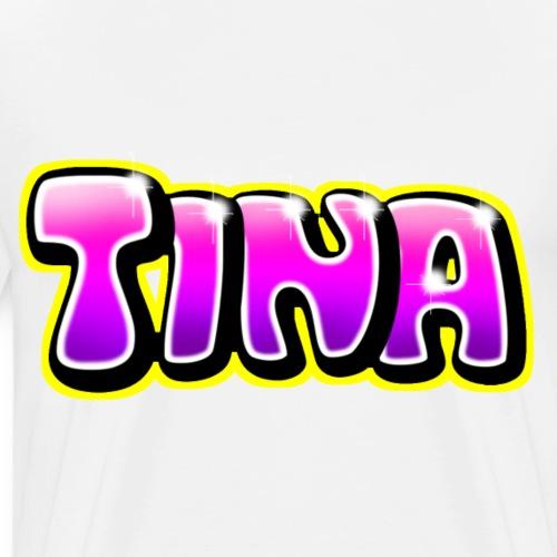 Graffiti Tina - T-shirt Premium Homme