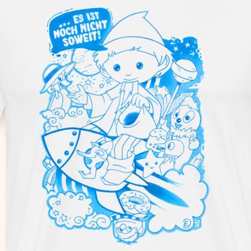 Sandmann und Freunde mit Rakete blau 2019 - Männer Premium T-Shirt