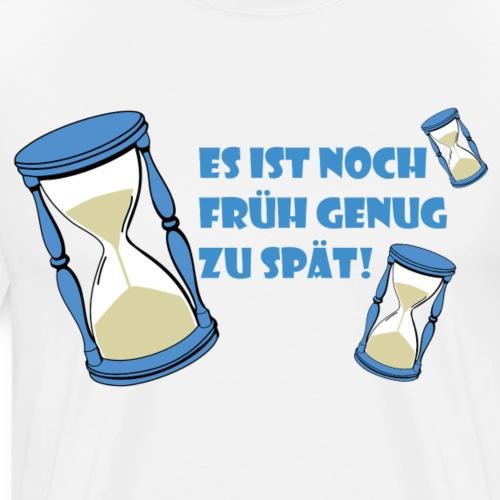 LEBE - bevor Dir die Zeit davon rennt - LEBE! - Männer Premium T-Shirt
