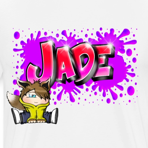 JADE Graffiti Name - T-shirt Premium Homme
