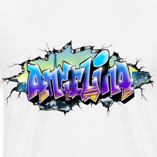Angelina Graffiti - T-shirt Premium Homme