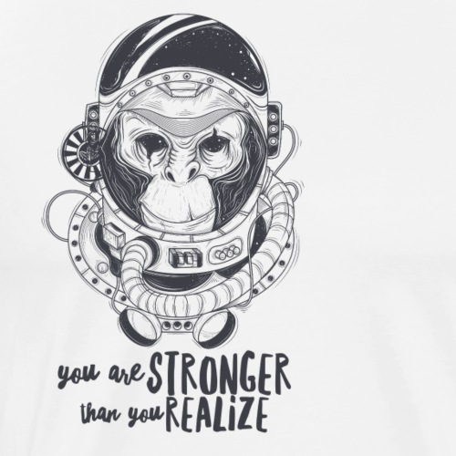 you are stronger - Männer Premium T-Shirt