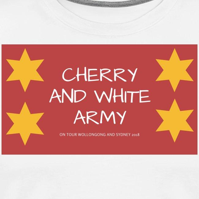 CHERRY AND WHITE ARMY NSW TOUR 2018