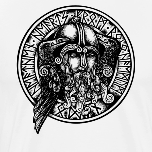 Odin &crows - Camiseta premium hombre
