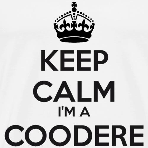Coodere keep calm - Men's Premium T-Shirt