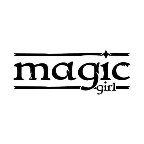 magic girl - magisches, zauberhaftes Mädchen - Männer Premium T-Shirt