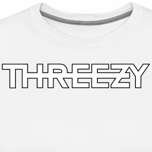 Threezy Logo - Männer Premium T-Shirt