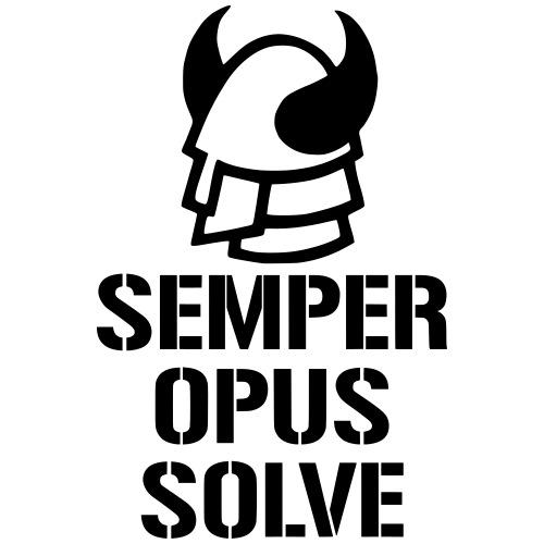 Semper Opus Solve - Premium-T-shirt herr