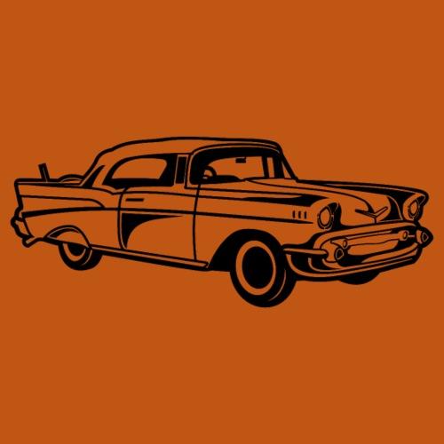 Chevy Bel Air / Oldtimer 01_schwarz - Männer Premium T-Shirt