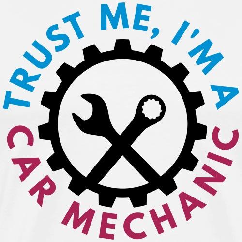 Trust me, I'm a car mechanic - customizable colors - Miesten premium t-paita