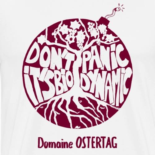 Dont' panic BORDEAUX - T-shirt Premium Homme