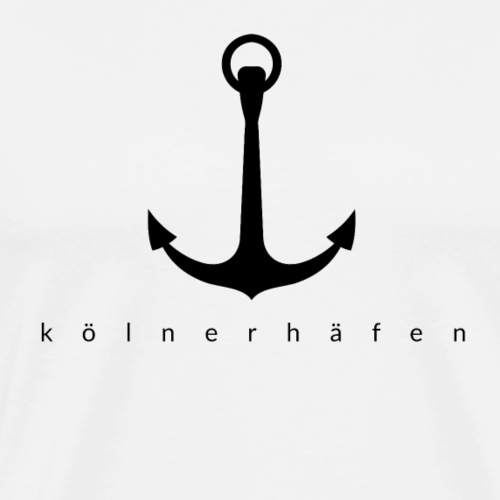 Kölner Häfen - Männer Premium T-Shirt