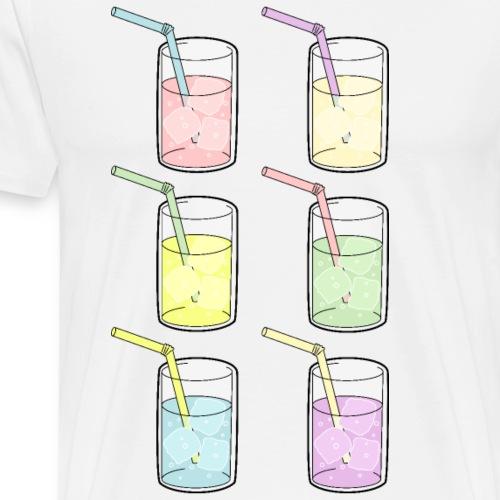 Låt oss dricka för pride - Premium-T-shirt herr
