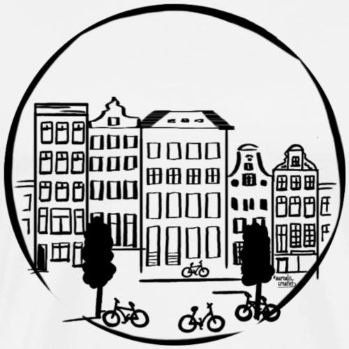 Canaux néerlandais - T-shirt Premium Homme