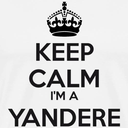 Yandere keep calm - Men's Premium T-Shirt