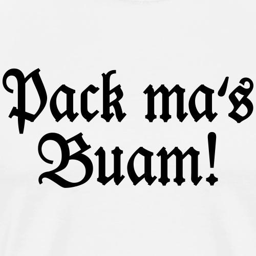 Buam! Bayern Spruch - Männer Premium T-Shirt