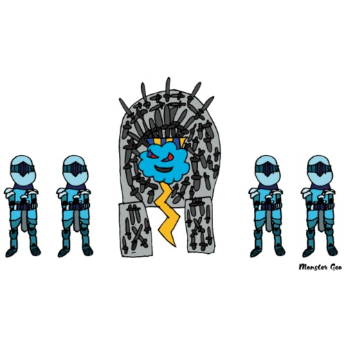 Trono de Rayo - Camiseta premium hombre