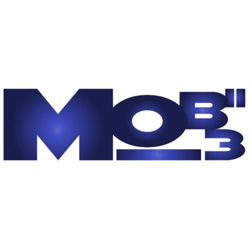 MoBii_3 Logo lila - Männer Premium T-Shirt