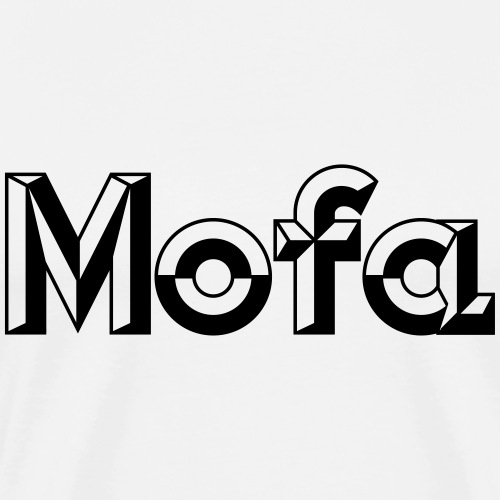 Moped Logo Parody (v1) - Men's Premium T-Shirt