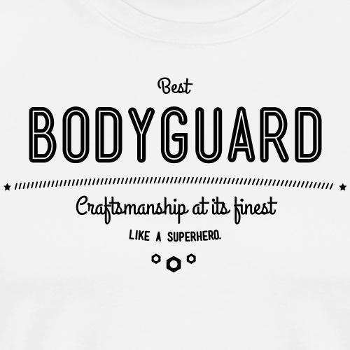 Bester Personenschützer - Handwerkskunst vom - Männer Premium T-Shirt