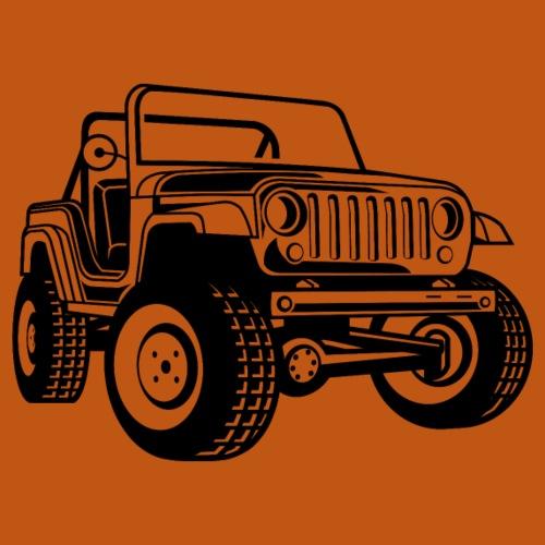 Geländewagen / Jeep SUV 03_schwarz - Männer Premium T-Shirt