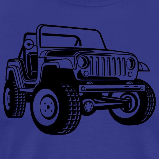 Geländewagen / Jeep SUV 03_schwarz