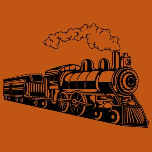 Lokomotive / Locomotive 02_schwarz - Männer Premium T-Shirt