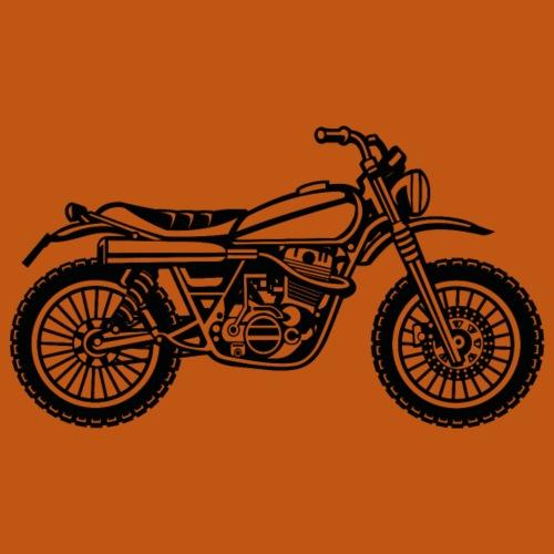 Motocross Enduro Motorrad 01_schwarz - Männer Premium T-Shirt