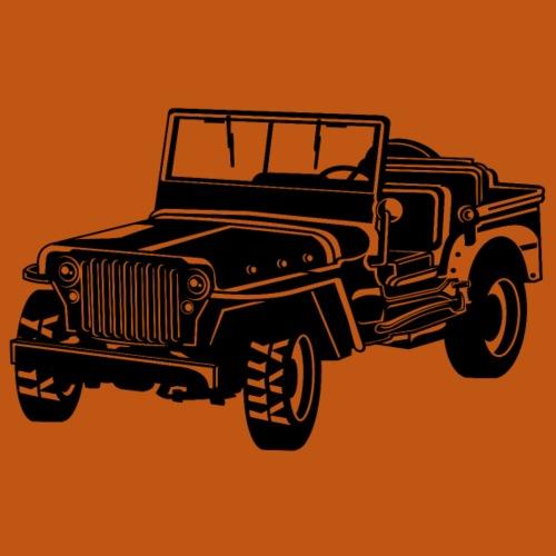 Geländewagen / Jeep SUV 02_schwarz - Männer Premium T-Shirt