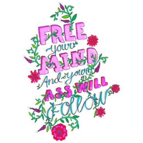Free your mind - Premium-T-shirt herr