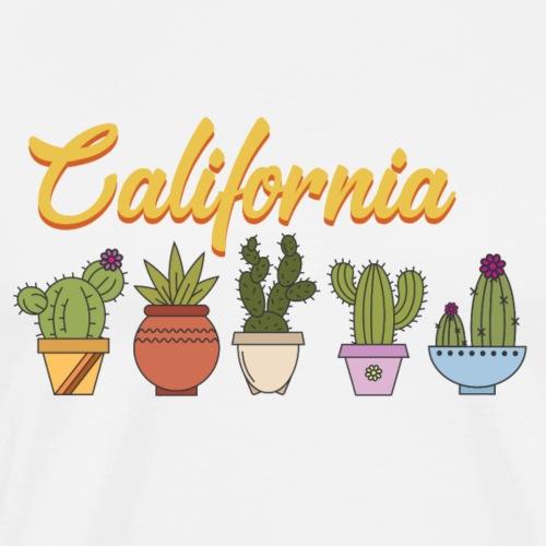 California Cactus - Men's Premium T-Shirt