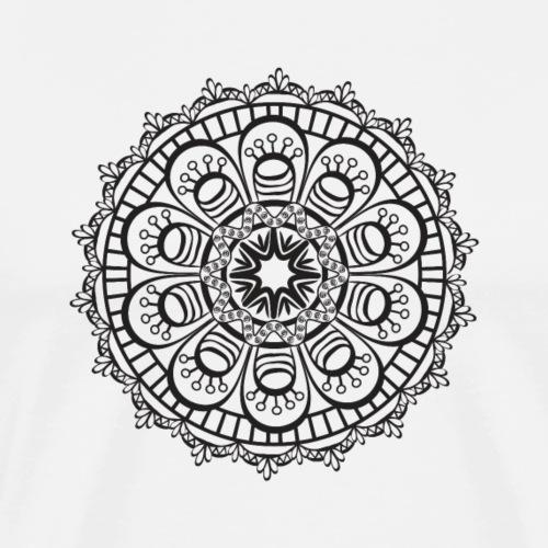 Mandala 3 - T-shirt Premium Homme