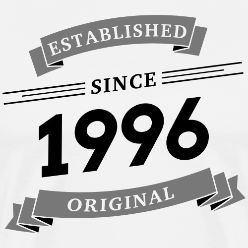 Established since 1996 - Männer Premium T-Shirt