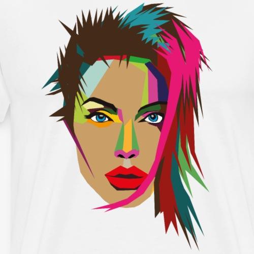 Woman 01 - Männer Premium T-Shirt