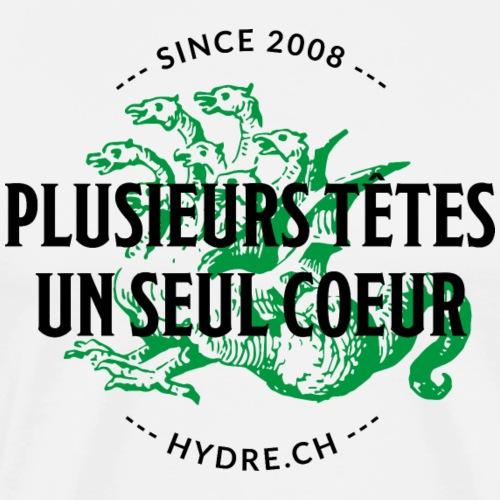 Devise - Style Irish (noir/vert) - T-shirt Premium Homme