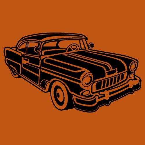 Chevy Cadilac / Muscle Car 02_schwarz - Männer Premium T-Shirt