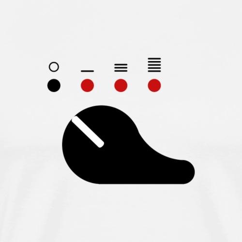 Sélecteur de tir noir (Scorpion) - T-shirt Premium Homme