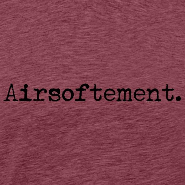 Airsoftement. (Noir)