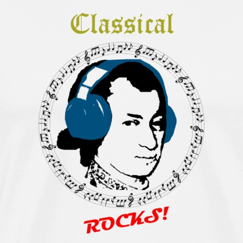 Classical Rocks! - Men's Premium T-Shirt