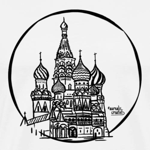 Cathédrale de Russie - T-shirt Premium Homme