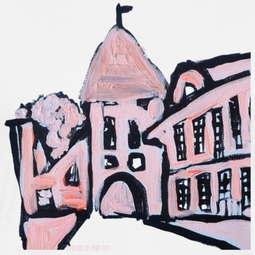 Middelaldrer københavn i lyserød - Herre premium T-shirt