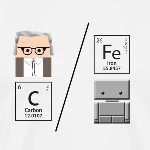 C/Fe Asimov - Maglietta Premium da uomo