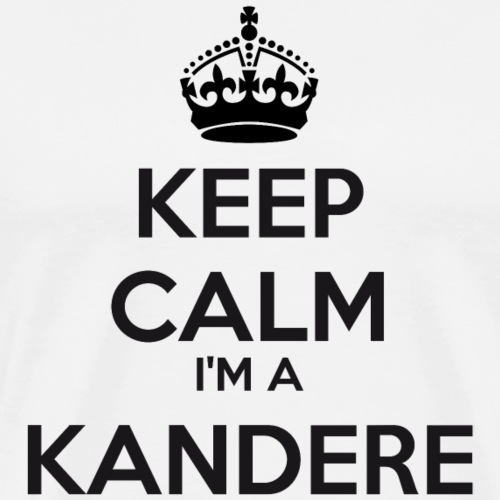 Kandere keep calm - Men's Premium T-Shirt