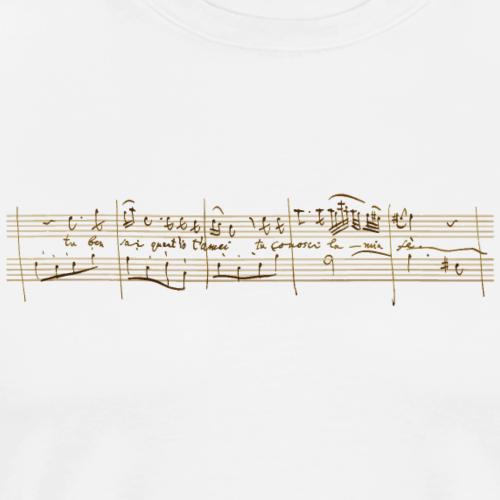 Don Giovanni: Donna Anna - «Tu ben sai ...» (brillante) - Maglietta Premium da uomo