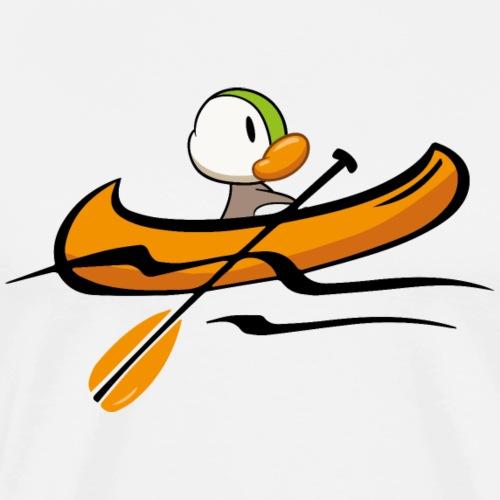 Kanu-Duck - Männer Premium T-Shirt