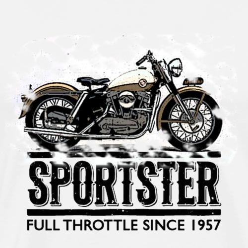 Sportster Full - Männer Premium T-Shirt