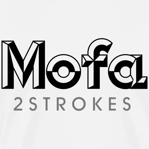 Mofa Logo Parody - 2 Strokes (v1) - Men's Premium T-Shirt