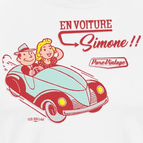 En voiture, Simone - T-shirt Premium Homme