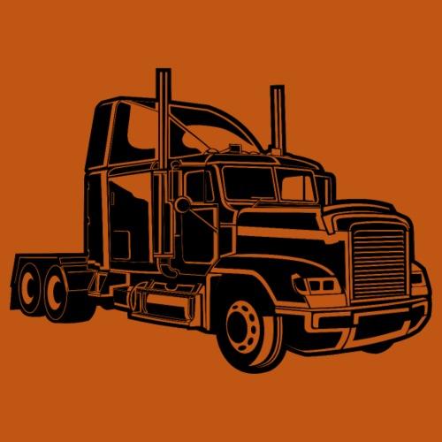 Truck / Lkw 02_schwarz - Männer Premium T-Shirt