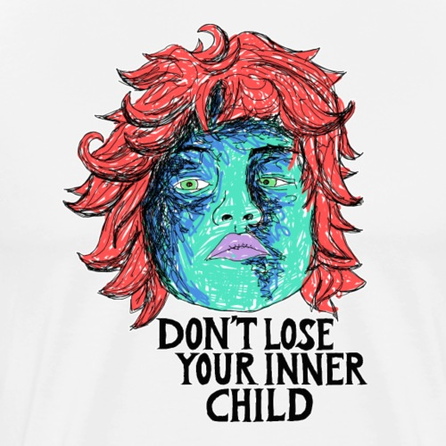 dont lose your innerchild - Männer Premium T-Shirt